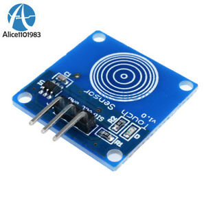 10pcs Ttp223b Digital Touch Sensor Capacitive Touch Switch Module For Arduino