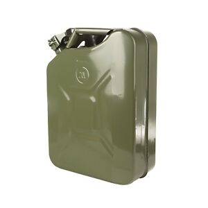 Green 20l 5 2 Gallon Metal Jerry Can Fuel Can Rugged Ridge 17722 30