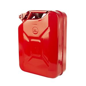 Red 20 L 5 2 Gallon Metal Jerry Can Fuel Can Rugged Ridge 17722 31