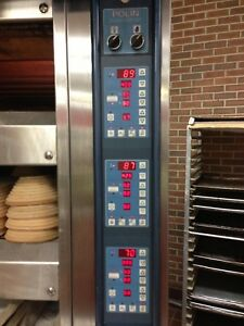 Polin Alvin 3 Deck Electric Oven