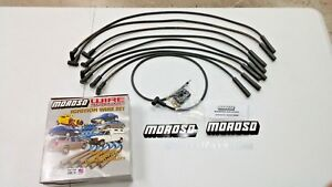 Moroso Bbc Chevy 396 454 Spark Plug Wires Straight Boot Hei Over Valve Cover