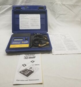 Yellow Jacket 69075 Superevac Lcd Vacuum Hvac Gauge Mint In Original Box
