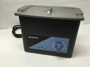 L r Quantrex Q140 W t Ultrasonic System Dental Medical Jewelry Cleaner 3qt 60min