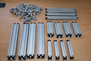 Lot1 8020 Aluminum Extrusion Hardware 10 Series Corner Pieces And Gussets
