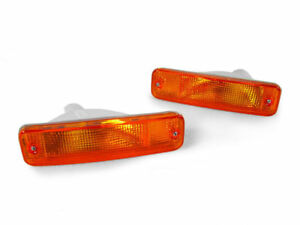 Depo Jdm Amber Front Bumper Signal Light Pair For 1988 1989 Honda Civic Ef 3d 4d