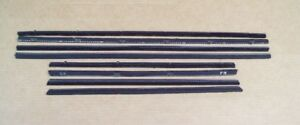 New 1960 1961 1962 Dodge Lancer Plymouth Valiant Window Sweep Set Cat whiskers