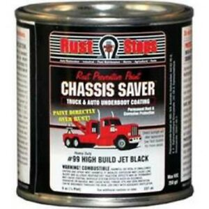 Chassis Saver Paint Stops And Prevents Rust Gloss Black 8 Oz Can Mpcucp99 16