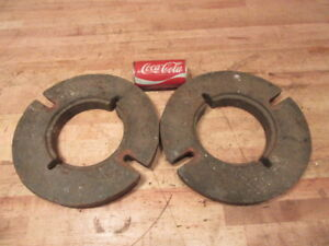 Rare Vintage International Cub Cadet Garden Tractor Inside Wheel Weights S6w c1