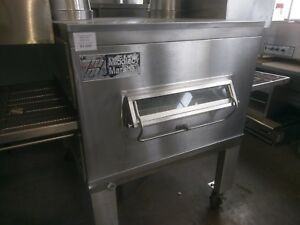 Middleby Marshall Ps200 Direct Nat Gas Fired Conveyor Pizza Oven 32 Wide Belt