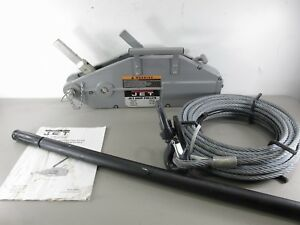 Jet Jg 150a Wire Rope Grip Puller W Cable 1 1 2 ton Unused