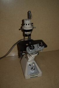 Olympus Ck Inverted Microscope W Wf15x Eyepieces