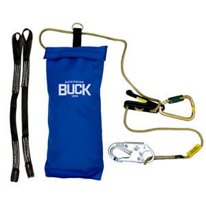 Arborist Buckingham Self Rescue System Stored In Weather resistant Nylon Bag