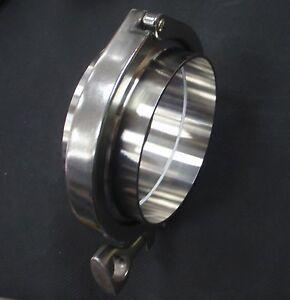 Stainless Tri Clamp Assy 4 O d Sanitary Tube Weld Ferrule 102mm Tc asy 400