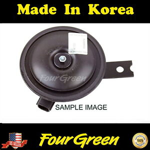 Horn High Pitch Horn For Hyundai 00 01 Tiburon 2 0l Oem New 966203a100