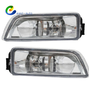 For 2003 2007 Honda Accord 4dr Sedan Clear Bumper Driving Fog Lights Lh Rh Pair