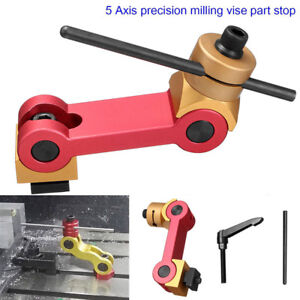 Stop Part Vise Movement Locator Tools Red gold High Precision 1 2 12 Thread