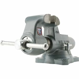 Wilton Serrated Machinist Bench Vise 4in Jaw Width 10016