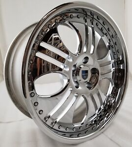 Asanti Roma Used Wheels Rims 19 Inch 5x112 34mm Staggered