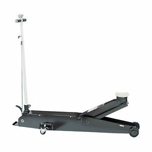 Omega Hydraulic Fast Lift Long Chassis Jack 5 ton Cap 27in Max Lift M 22050c