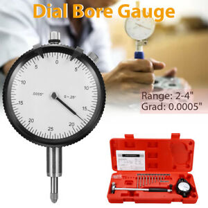 Engine Cylinder 2 4 Inch 0 0005 Precision Dial Bore Gauge Measuring Indicator