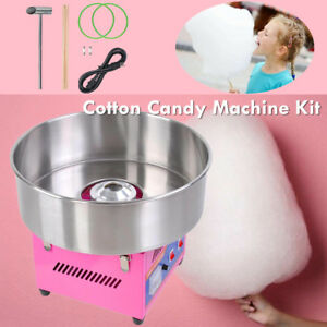 20 Tabletop Commercial Cotton Candy Machine Electric Floss Maker Carnival Party