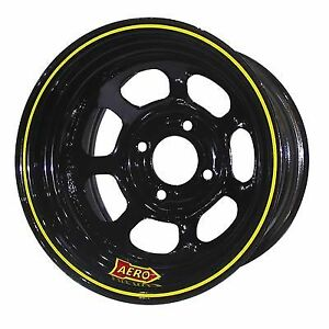 Aero Race Wheels 31 184040 31 series 13x8 In 4x4 00 Black Wheel