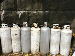 100 Lb Pound Steel Propane Tank Lpg Refillable Cylinder With Pol Valve