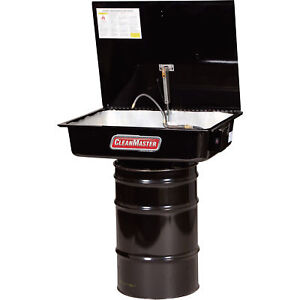 R D Solvent Drum mounted Parts Washer 30 gallon Cm230