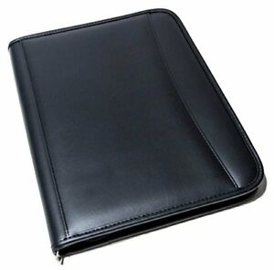 Portfolio Binder Leather Ring Binder Animal friendly Leather Folder