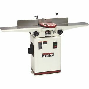 Jet 6in Long Bed Jointer With Helical Head Kit Model Jj 6hhdx