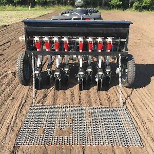 Field tuff 8 row Tow behind Atv Seeder 48inw Model Atv 48atvps