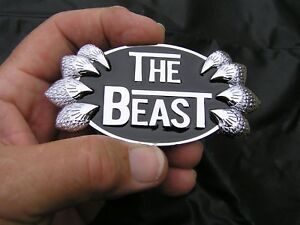 The Beast Fits Chrysler 300c Grill Replacement Emblem Chrome Metal Car Badge