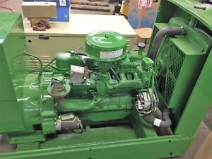 45 Kw Generator Natural Gas Onan 12 Lead 1800 Rpm Ford 300 6