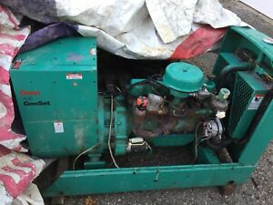45 Kw Generator Natural Gas Onan 1800 Rpm 1 Or 3 Phase