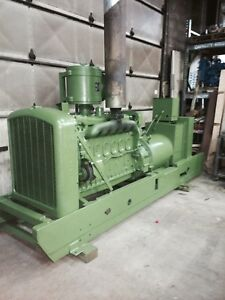 115 Kw Generator Detroit Diesel 6 71 Engine 12 Lead 1 Or 3 Phase 1890 Rpm