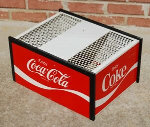 Vintage Coke Fountain Soda Dispenser Machine Cover Coca Cola Advertising