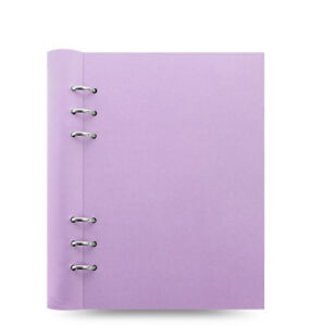 Filofax Clipbook Classic Pastels A5 Notebook Orchid 023623
