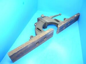 Large Cast Iron Fence For Early Delta Wood Shaper W 1934 Patent Date