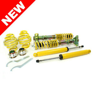 Rsk Street Adjustable Coilover Kit Bmw E36 3 Series Non M3 Yellow Coilovers