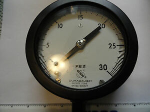 Ashcroft Pressure Gauge 30psi Model 1379a