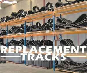 Hitachi Zx50 Excavator Replacement Tracks Set Of Two Tracks By Dominion