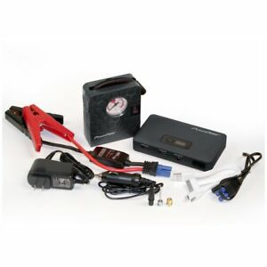 Chargeit Car Jump start Power Pack With Air Compressor Usb Charger Emergency Kit