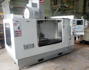 Haas Vf 4b Cnc Vertical Machining Center