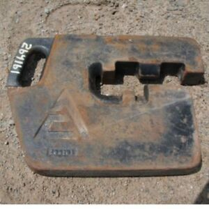 Used Suitcase Weight Allis Chalmers 9170 9190 9670 9690 8010 8030 8050 8070