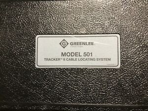 Greenlee 501 Cable Tester