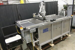 Ultrasonic Testing System Immersion Tank Upkii t66 Ndt Automation Mistras