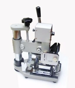 Hot Foil Stamping Machine Tipper For Id Pvc Cards Hight Quality For Credit Card