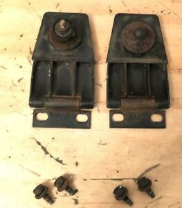 87 95 Jeep Wrangler Yj Oem Hard Top Liftgate Hinges Pair Left Right Hinge Rear