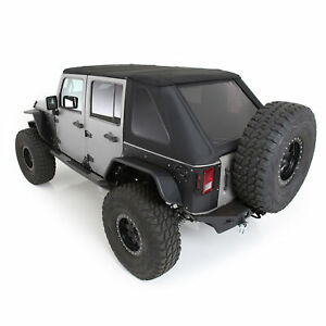 Bowless Combo Top Kit With Tinted Windows For Jeep Wrangler Jku 2007 2018