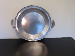 18th Cent Spanish Colonial Silver Dish Platter 14 5 8 In Diameter 1385 Grams